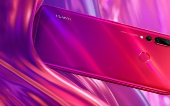 Huawei shows off Red and Purple nova 4, teasing Dec 17 announcement
