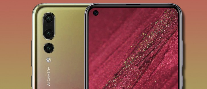 Huawei Nova 4 punch hole display