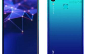 Huawei P Smart (2019) leaks in full, press renders in tow