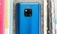 Huawei Mate 20 Pro's first update adds more camera features, October security patches