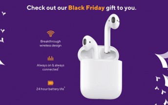 Metro announces free Airpods for Black Friday, discounts on iPhones