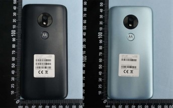 Moto G7 Play shows up at the FCC, images and specs outed