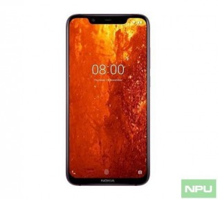 Nokia 8.1 front and back