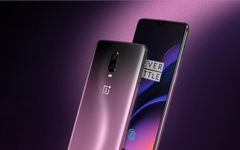 Thunder Purple OnePlus 6T appears in official promo images