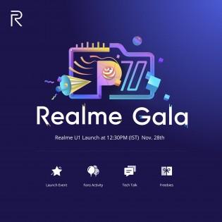 Realme Gala on November 28
