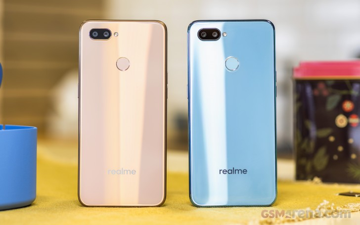 Realme U1, the first Helio P70 phone, debuts with a 25MP