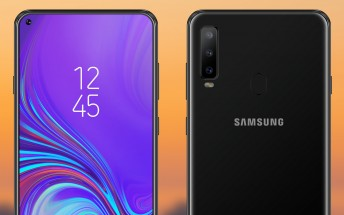 Samsung Galaxy A8s is certified by FCC, screenshot reveals the camera position