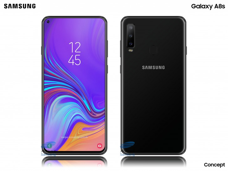 Samsung Galaxy A8s to have LCD Infinity-O display, made by BOE