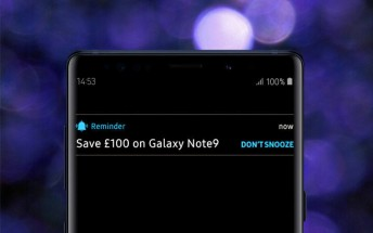 Deals: Samsung UK discounts Galaxy S9 by £140 for Black Friday, Note9 is £100 off
