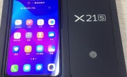 vivo X21S unpacked in front of the camera, reveals UD fingerprint reader