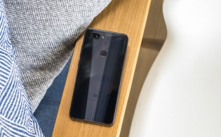 Dual camera and a fingerprint reader on the back