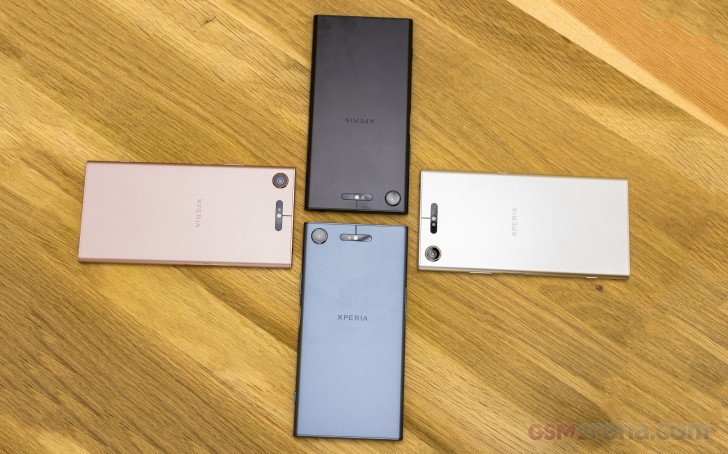Sony Xperia XZ1, XZ1 Compact and XZ Premium are now getting