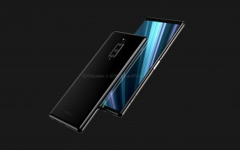 Sony Xperia XZ4 renders show a triple camera, extra tall 6.5