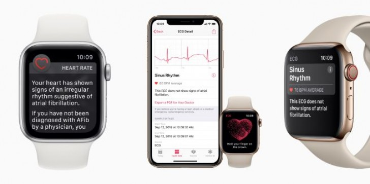 Apple enables electrocardiogram on Watch Series 4 with watchOS 5.1.2