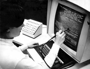 "A light pen from 1969 (<a href=""https://commons.wikimedia.org/wiki/File:HypertextEditingSystemConsoleBrownUniv1969.jpg"" target=""_blank"" rel=""noopener noreferrer"">image credit</a>)"