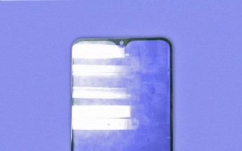 Samsung Galaxy M20's screen glass leaks, check out the teardrop notch