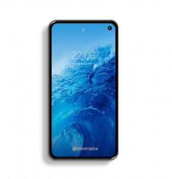 Samsung Galaxy S10 Lite concept render shows even bezels, no