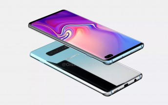 Samsung Galaxy S10+ renders hit the web, 5G model demoed