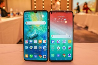 Huawei Mate 20 to an Honorary Glance 20