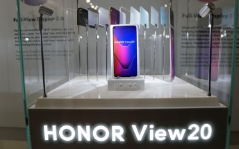 Honor View 20 teased with an in-screen camera and a 48MP camera