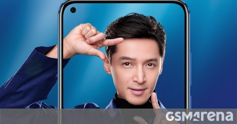 Honor introduces View 20 front design and colors in official teasers - GSMArena.com news - GSMArena.com