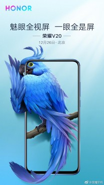Honor View 20 official teasers
