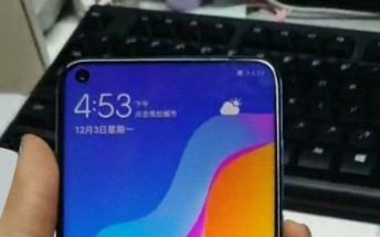 Huawei nova 4 photographed in the wild with screen hole, P20 Pro-like rear camera