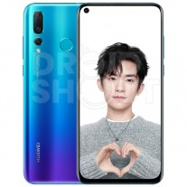 Huawei nova 4 in white/pearl and blue/purple