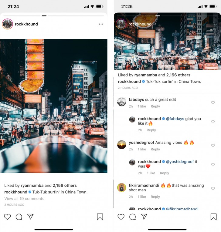 Instagram rolls out 'huge update' by mistake