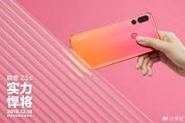 Lenovo Z5s in gradient Pink/Orange