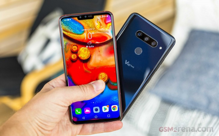 LG V40 ThinQ to arrive in Europe - GSMArena com news