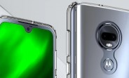 Look at the Moto G7 from all angles thanks to new case renders