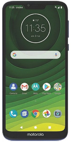 Motorola Moto G7 Supra for Cricket surfaces with a regular