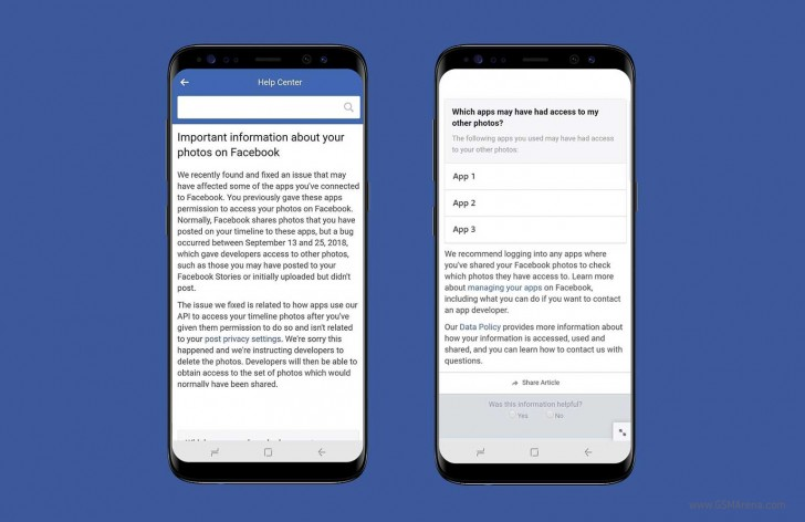 Facebook admits bug recently exposed 6.8 million users' photos