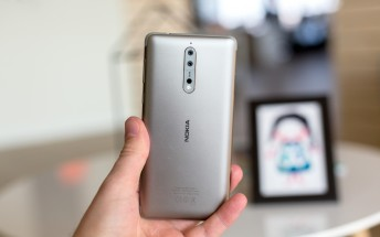 Android 9 Pie for the Nokia 8 is finally rolling out