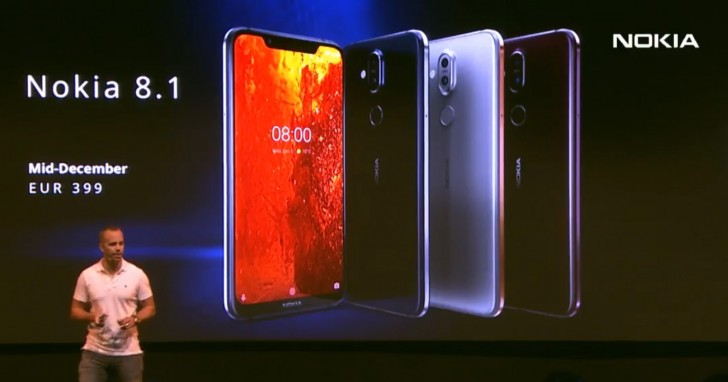 Nokia 8.1 now official with 6.18-inch display, Android Pie, and more
