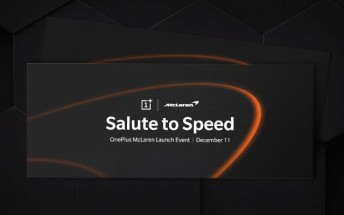 The invite for the OnePlus 6T McLaren Edition event looks super cool