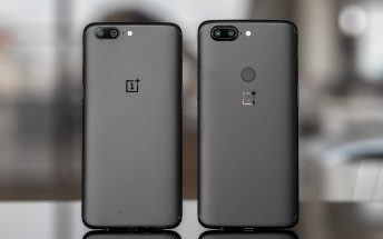 OnePlus 5 and OnePlus 5T are now receiving Android 9 Pie