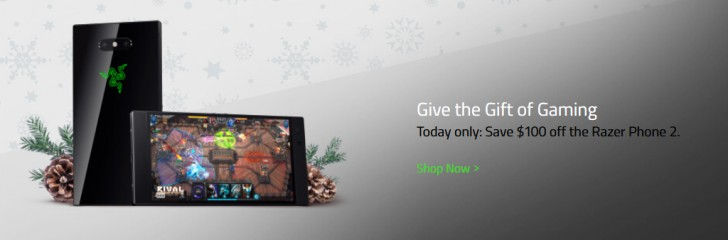 Razer discounts the Razer phone by $100 today only, 1st gen for $300 off