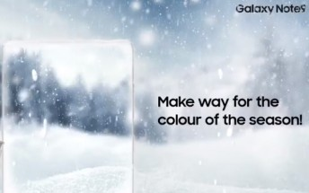 First Snow White Galaxy Note9 is headed to India