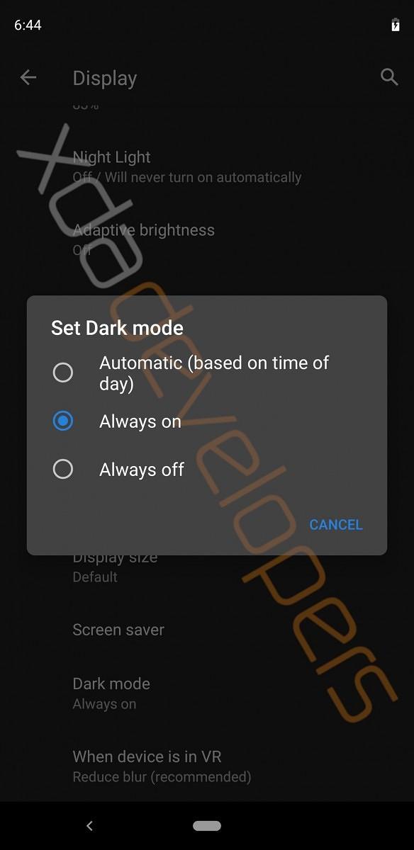 首個Android Q測試版本曝光,新增Dark Mode和桌面模式?