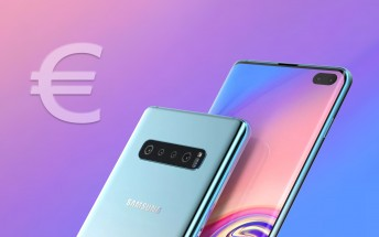 Fully-loaded Galaxy S10+ will cost €1,600, base Galaxy S10 Lite half that