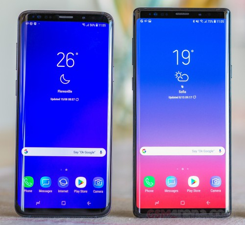 Galaxy S9 and Note9 Android Pie rollout continues with India and