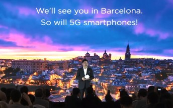 Huawei will bring the world's first foldable 5G phone to the MWC