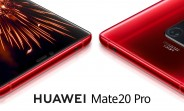 Huawei Mate 20 Pro in Red and Comet Blue arriving on January 10