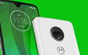 Motorola's website leaks the Moto G7 lineup