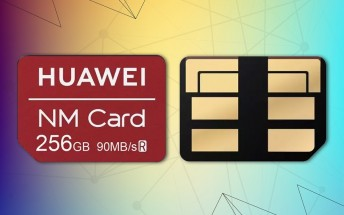 Huawei's NM cards benchmarked, show microSD-like performance.