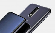 "Nokia 8.1 Plus renders show a punch hole camera on a 6.2"" display"