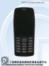 Nokia TA-1139 in Black (also available in Gray and Red)
