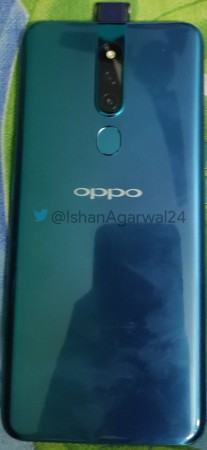 Oppo's mysterious phone from the front and back